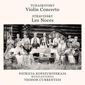 Tchaikovsky: Violin Concerto & Stravinsky: Les Noces Product Image
