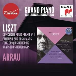 Liszt: Piano Concerto No. 1, Fantaisie, Hungarian Rhapsodies (selection)