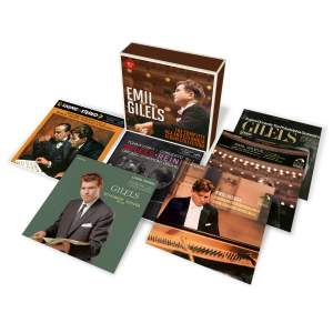 Emil Gilels: The Complete RCA & Columbia Collection