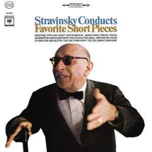 Stravinsky Conducts Favorite Short Pieces Product Image