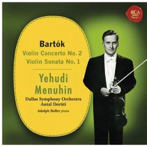 Bartók: Violin Concerto No. 2 & Violin Sonata No. 1
