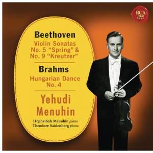 Beethoven: Violin Sonatas 5, 9 - Brahms: Hungarian Dance 4