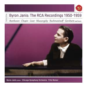 Byron Janis - The RCA Recordings 1950-1959 Product Image