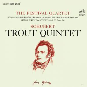 "Schubert: Piano Quintet in A Major, Op. 114, D. 667 ""The Trout"""