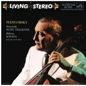 Piatigorsky Plays Stravinsky, Debussy, Busoni & Foss