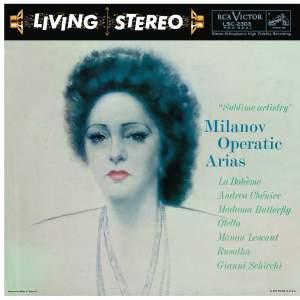 Milanov Operatic Arias