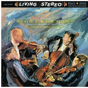 "Schubert: String Quartet No. 14 in D Minor, D. 810 ""Death and the Maiden"" & No. 12 in C Minor, D. 703 ""Quartettsatz"""