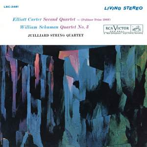 Carter: String Quartet No. 2 & Schuman: String Quartet No. 3