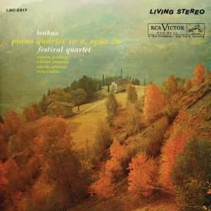 Brahms: Piano Quartet No. 2 in A Major, Op. 26