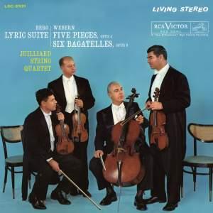 Webern: 5 Movements for String Quartet and Six Bagatelles
