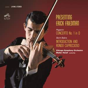 Paganini: Violin Concerto No. 1 in D Major, Op. 6 - Saint-Saens: Introduction et Rondo capriccioso in A Minor, Op. 28