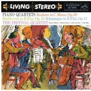 Schumann: Piano Quartet in E-Flat Major, Op. 47 - Beethoven: Piano Quartet in E-Flat Major, Op. 16