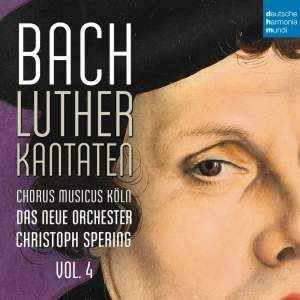 Bach: Lutherkantaten, Vol. 4 (BWV 38, 80, 61)