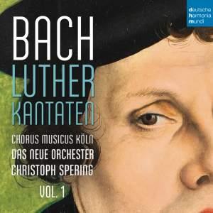 Bach: Lutherkantaten, Vol. 1 (BWV 62, 36, 91)