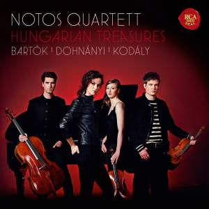 Hungarian Treasures: Notos Quartett