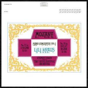 Mozart: Concertos for Piano and Orchestra Nos. 12 & 18