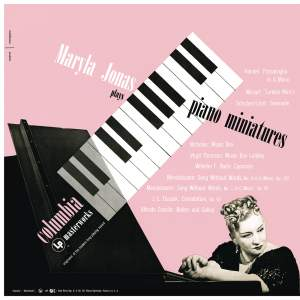 Maryla Jonas Plays Piano Miniatures