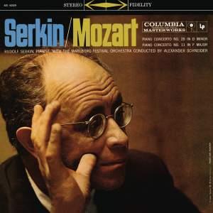 Mozart: Piano Concerto No. 20 in D Minor, K. 466 & Piano Concerto No. 11 in F Major, K. 413