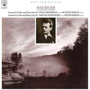 Reger: Violin Sonata No. 9, Op. 139 & Cello Sonata No. 4, Op. 116