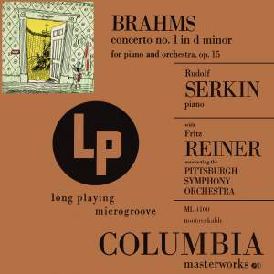 Brahms: Concerto No. 1 in D Minor for Piano and Orchestra, Op. 15
