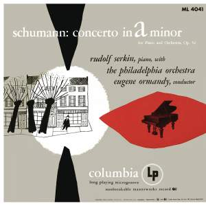 Schumann: Concerto for Piano and Orchestra in A Minor, Op. 54