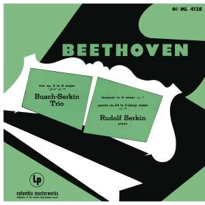 "Beethoven: Piano Trio in D Major, Op. 70 No. 1 ""Ghost"" & Fantasia for Piano, Op. 77 & Piano Sonata No. 24, Op. 78 & Mendelssohn: Songs Without Words, Op. 62, No. 1"