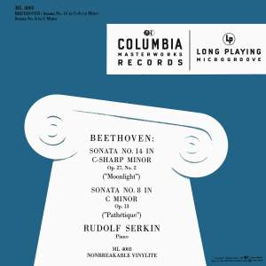 "Beethoven: Piano Sonata No. 14, Op. 27 No. 2 ""Moonlight"" & Piano Sonata No. 8, Op. 13 ""Pathetique"""