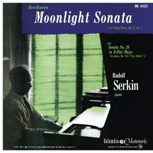 Beethoven: Piano Sonata No. 14, Op. 27 No. 2 'Moonlight', Piano Sonata No. 26, Op. 81a 'Les Adieux' & Piano Sonata No. 23, Op. 57 'Appassionata'
