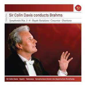 Sir Colin Davis conducts Brahms