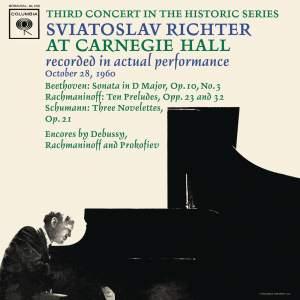 Sviatoslav Richter Recital - Live at Carnegie Hall, October 28, 1960