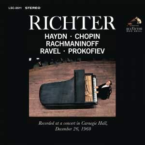 Sviatoslav Richter Recital - Live at Carnegie Hall, December 26 1960