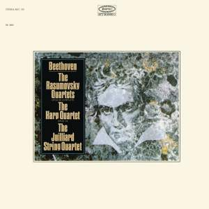 """Beethoven: 3 String Quartets, Op. 59 """"Rasumovsky"""" & String Quartet No. 10, Op. 74 (Remastered)"""