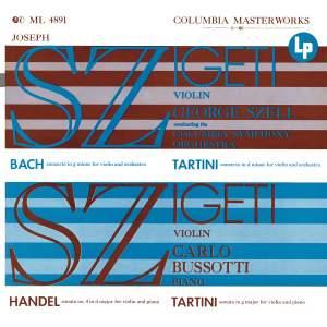 Joseph Szigeti Plays Bach, Händel & Tartini (Remastered)