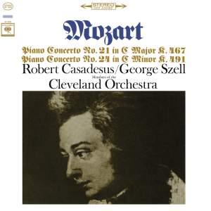 Mozart: Piano Concerto Nos. 21 & 24 (Remastered)