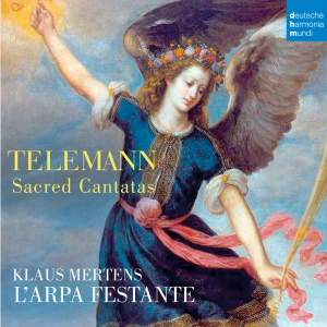 Telemann: Sacred Cantatas Product Image