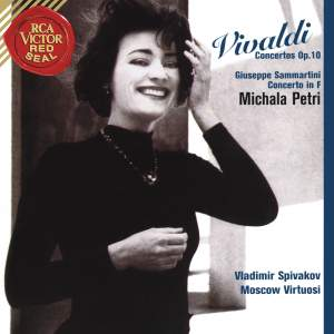 Michala Petri Plays Vivaldi Concertos