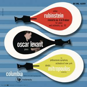 Rubinstein: Piano Concerto No. 4, Op. 70