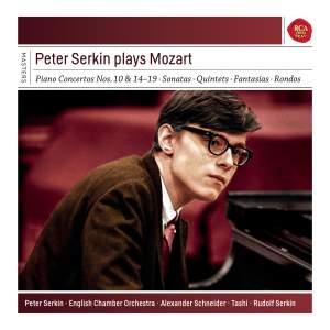 Peter Serkin Plays Mozart