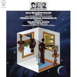Black Composer Series, Vol. 8: Olly Woodrow Wilson, Thomas Jefferson Anderson, Jr. & Talib Rasul Hakim Product Image