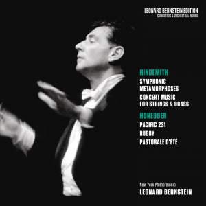 Hindemith: Symphonic Metamorphoses & Concert Music, Op. 50 - Honegger: Pacific 231 & Rugby & Pastorale d'été