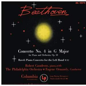 Beethoven: Piano Concerto No. 4 - Ravel: Piano Concerto for the left Hand