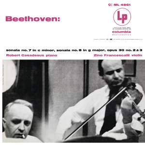 Beethoven: Violin Sonatas 7 & 8