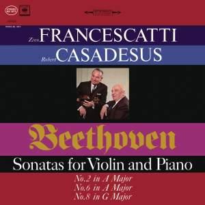 Beethoven: Violin Sonatas 2, 6 & 8