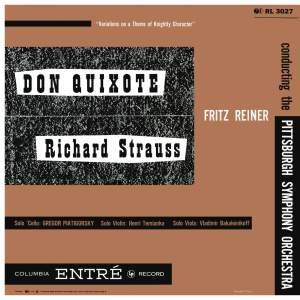 Strauss: Don Quixote, Op. 35 & Saint-Saëns: Cello Concerto No. 1 in A Minor, Op. 33