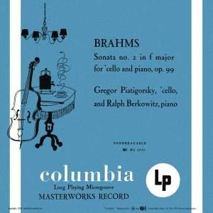 Brahms: Cello Sonata No. 2 in F Major & Beethoven: Cello Sonata No. 5 in D Major