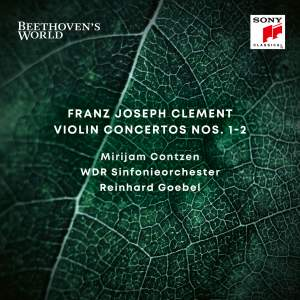 Beethoven's World - Clement: Violin Concertos Nos. 1 & 2 Product Image