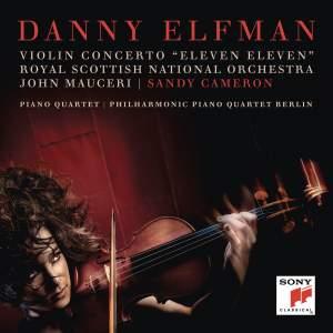 Elfman: Violin Concerto (Eleven Eleven) Product Image