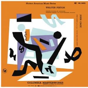 Piston: Sonatina for Violin and Piano & Cage: String Quartet in Four Parts