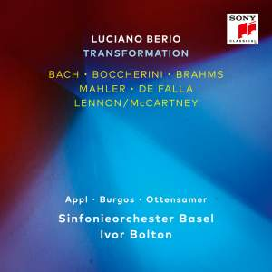 Luciano Berio - Transformation Product Image