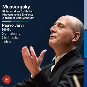 Mussorgsky: Pictures at an Exhibition & A Night at Bald Mountain Product Image